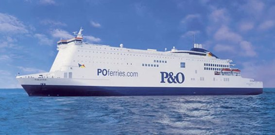 P&O Ship for our mini cruises